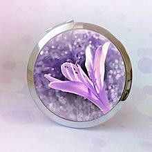 Zrkadielka - zrkadielko jemne fialové - 7657416_