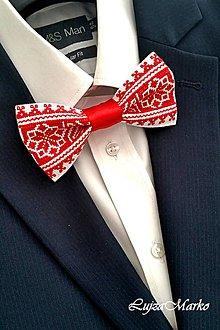 Doplnky - Červený kacheľ, biela pec motýlik - 7658458_