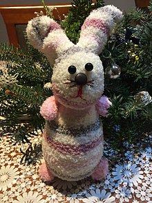 Hračky - Ponožkový zajac - 7662975_