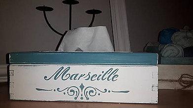 Krabičky - Zásobník na servítky Marseille - 7664302_