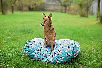 Pre zvieratká - Pelech pre psíka malý 60x78 cm vzor 395 - 7663160_
