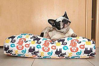 Pre zvieratká - Pelech pre psíka malý 60x78 cm vzor 365 - 7663250_