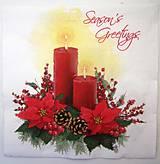 - Servítka -vianočná dekorácia - 7661666_