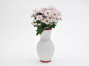 Nádoby - Convivium váza venuša červená - 7661541_