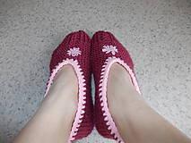 """Obuv - Pletené """" papuče ) Balerínky - 7662270_"""