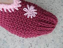"""Obuv - Pletené """" papuče ) Balerínky - 7662282_"""