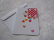 Papiernictvo - Pohľadnica  Srdcováááá - 7663541_