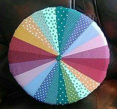 Úžitkový textil - Molitanový sedák kruh 53x53x12 cm - 7661431_