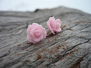 Náušnice - Náušnice Růžičky Sweet Rose mini napichovačky - 7668118_