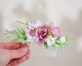 Ozdoby do vlasov - Ráno v záhrade ruží... - 7666884_