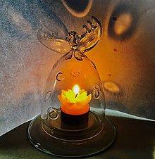 Svietidlá a sviečky - svícen Anděl dobré nálady - 7664959_