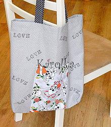 Nákupné tašky - Nákupná taška - Sivá - 7665975_