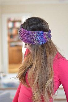 Ozdoby do vlasov - čelenka melír - 7664940_