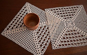 Úžitkový textil - Prestieranie - pre dvoch - 7666062_