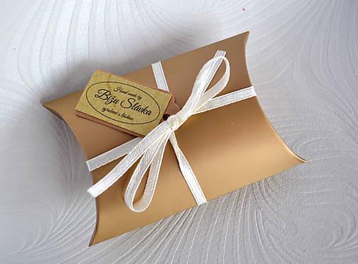 Obalový materiál - Darčekové balenie zlaté (2124 B) - 7668445_