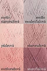 Úžitkový textil - Pletené chňapky - ružové - 7668395_