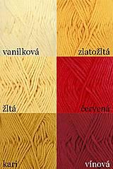 Úžitkový textil - Pletené chňapky - červená/mätová/sivá - 7668419_