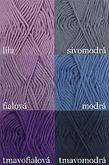 Úžitkový textil - Pletené chňapky - červená/mätová/sivá - 7668423_