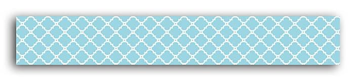 Papier - MT33 Washi páska modro-biela – morská téma - 7665517_