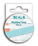 Papier - MT33 Washi páska modro-biela – morská téma - 7665518_