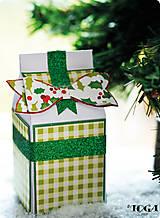 Papier - MT46 Glitrová washi páska 2m Stromovozelená - 7665546_