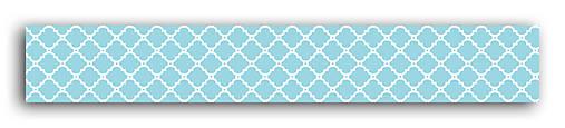 MT33 Washi páska modro-biela – morská téma