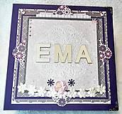 """Papiernictvo - Luxusný veľký fotoalbum pre dieťa - dievčatko """"EMA"""" - 7667978_"""