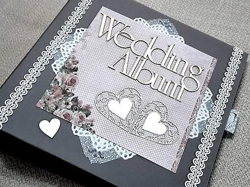 Svadobný fotoalbum veľký