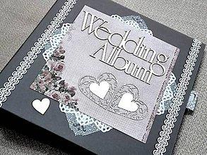 Papiernictvo - Svadobný fotoalbum veľký