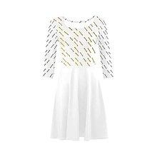 Šaty - Zlatobiele