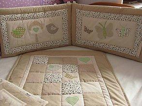 Textil - vintage postieľka pre chlapčeka - 7665585_
