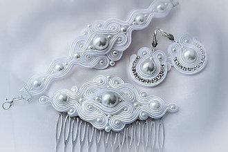Sady šperkov - Svadobný set - 7667750_