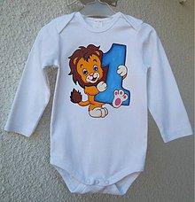 Detské oblečenie - narodeninové k 1.rôčku (na obj.) - 7665686_
