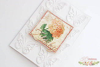 Papiernictvo - Scrapbooková pohľadnica III - 7669055_