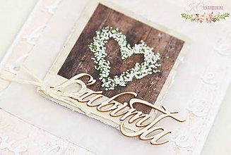 Papiernictvo - Scrapbooková pohľadnica VII - 7669219_