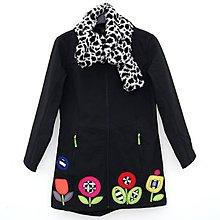 Kabáty - Dámský kabát Floral Mosaic - 7671222_