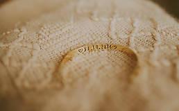 Náramky - Mosadzný náramok s vlastným odkazom - 7672393_