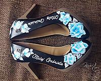 Obuv - Svadobné lodičky Gabriela a Matej - 7669922_