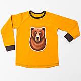 Detské oblečenie - Pííískacie tričko Wild Bear - 7672357_
