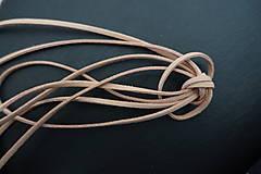 Galantéria - Semišová šnúrka H2 - 7669420_