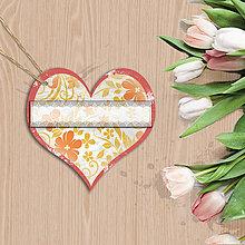 Papiernictvo - Valentínska menovka (16 (kvety vintage)) - 7668667_