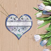 Papiernictvo - Valentínska menovka (15 (kvety vintage)) - 7670253_