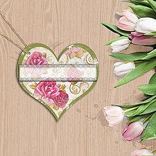 Papiernictvo - Valentínska menovka - 7670255_