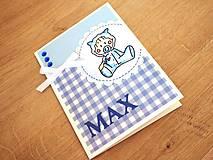 Papiernictvo - Pohľadnica pre bábätko - 7673625_