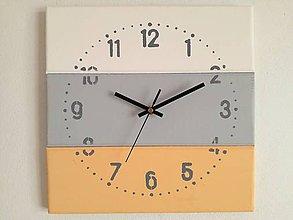 Hodiny - Nástenné hodinky - určite sa vyčasí - 7676989_