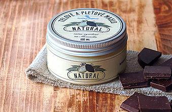 Drogéria - Pleťové a telové maslo Natural (100 ml) - 7676150_