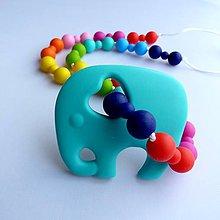 Detské doplnky - Silikónový náhrdelník Nina - 7675568_