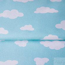 Textil - 100 % bavlna mraky, šírka 160 cm, cena za 0,5 m - 7676816_