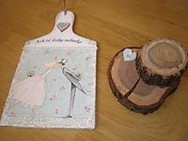 Dekorácie - Svadobná dekorácia - Ach tá láska nebeská - 7675941_