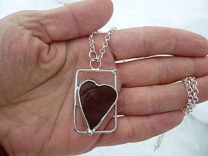 Náhrdelníky - Srdce z Herlian - 7674943_